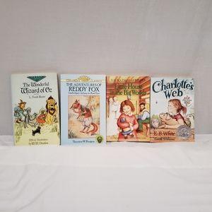 Bundle of 4 Classic Paperback Books